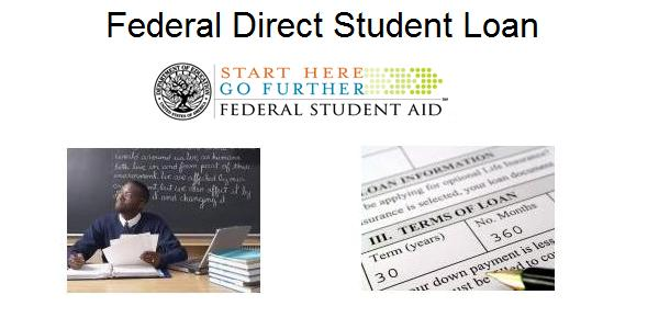 types of loans for college